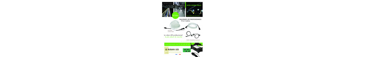 Ruban LED connectables professionnels IP65 Light at Job